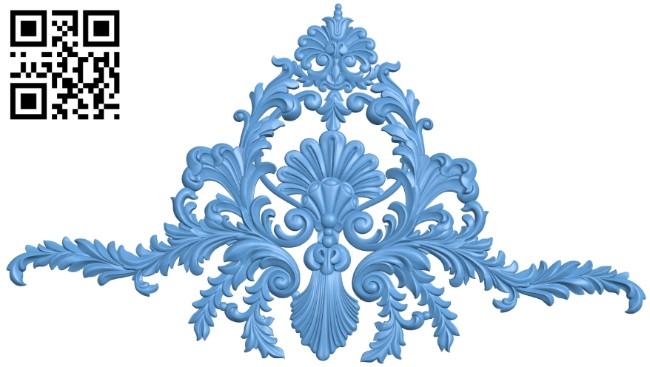 Pattern decor design A005983 download free stl files 3d model for CNC wood carving