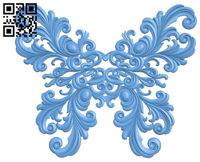 Pattern decor design A005984 download free stl files 3d model for CNC wood carving