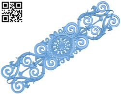 Pattern decor design A005986 download free stl files 3d model for CNC wood carving