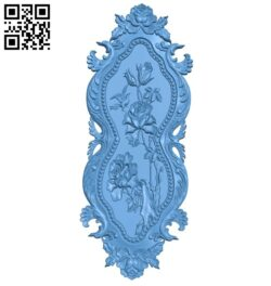 Pattern decor design A005988 download free stl files 3d model for CNC wood carving