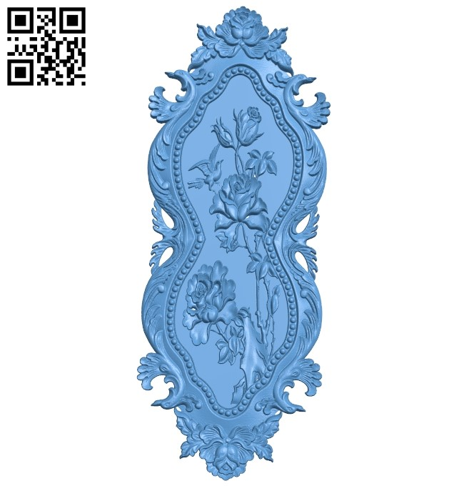 Pattern decor design A005988 download free stl files 3d model for CNC wood carving