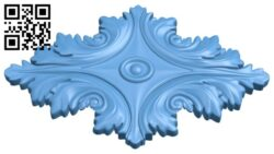 Pattern flower design A005909 download free stl files 3d model for CNC wood carving