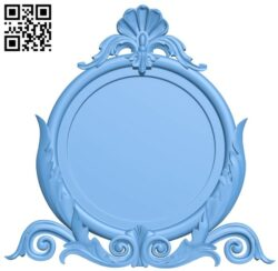 Picture frame or mirror A005910 download free stl files 3d model for CNC wood carving