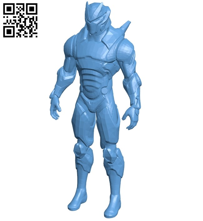 Robot omega fortnite B008986 file obj free download 3D Model for CNC and 3d printer