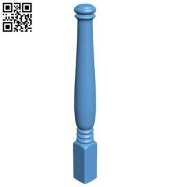 Table legs and chairs A005882 download free stl files 3d model for CNC wood carving