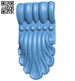 Top of the column A005870 download free stl files 3d model for CNC wood carving
