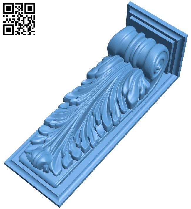 Top of the column A005873 download free stl files 3d model for CNC wood carving