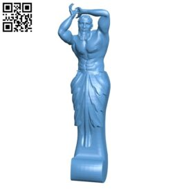 Top of the column A005875 download free stl files 3d model for CNC wood carving