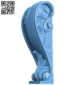 Top of the column A005877 download free stl files 3d model for CNC wood carving