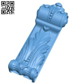 Top of the column A005878 download free stl files 3d model for CNC wood carving