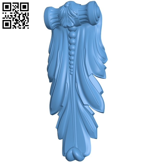 Top of the column A005879 download free stl files 3d model for CNC wood carving