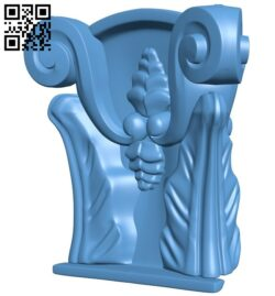 Top of the column A005957 download free stl files 3d model for CNC wood carving