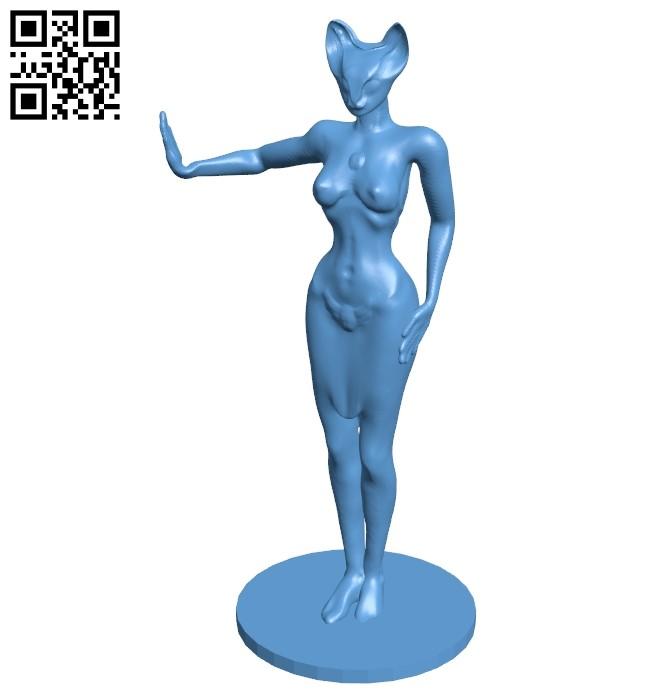 Bastet B009104 file obj free download 3D Model for CNC and 3d printer