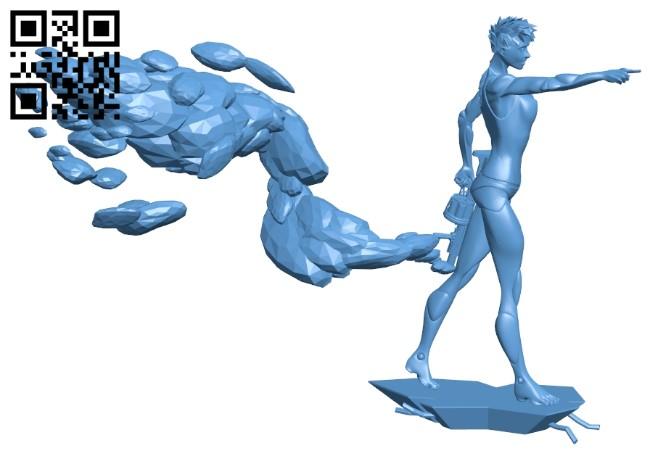 Bionic robot B009212 file obj free download 3D Model for CNC and 3d printer