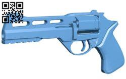 Chiappa gun B009070 file obj free download 3D Model for CNC and 3d printer