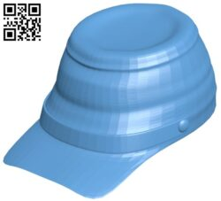 Civil war cap – hat B009095 file obj free download 3D Model for CNC and 3d printer