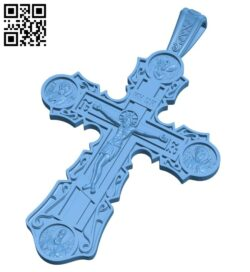 Cross symbol pattern A006123 download free stl files 3d model for CNC wood carving