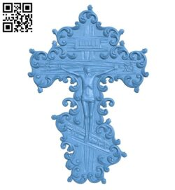 Cross symbol pattern A006124 download free stl files 3d model for CNC wood carving