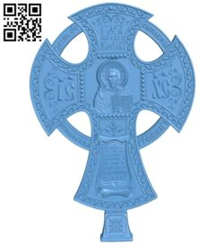 Cross symbol pattern A006126 download free stl files 3d model for CNC wood carving