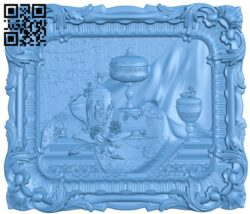 Display of antiques A006024 download free stl files 3d model for CNC wood carving