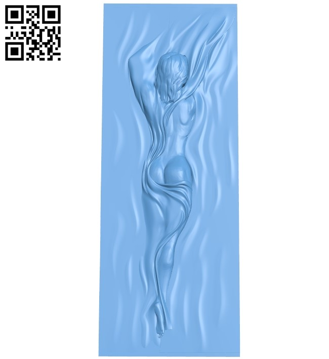 Door picture A006037 download free stl files 3d model for CNC wood carving