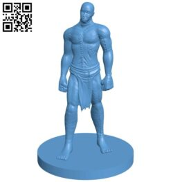 Flesh Golem – man B009052 file obj free download 3D Model for CNC and 3d printer