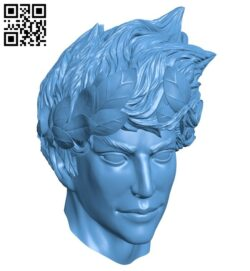 Head B009092 file obj free download 3D Model for CNC and 3d printer