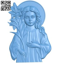 Icon Three year old A006151 download free stl files 3d model for CNC wood carving