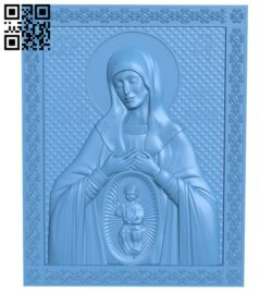 Icon god was born A005994 download free stl files 3d model for CNC wood carving