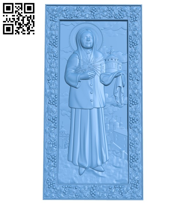 Icon of Victor A006077 download free stl files 3d model for CNC wood carving