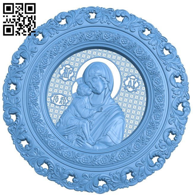 Icon of the Don A006153 download free stl files 3d model for CNC wood carving