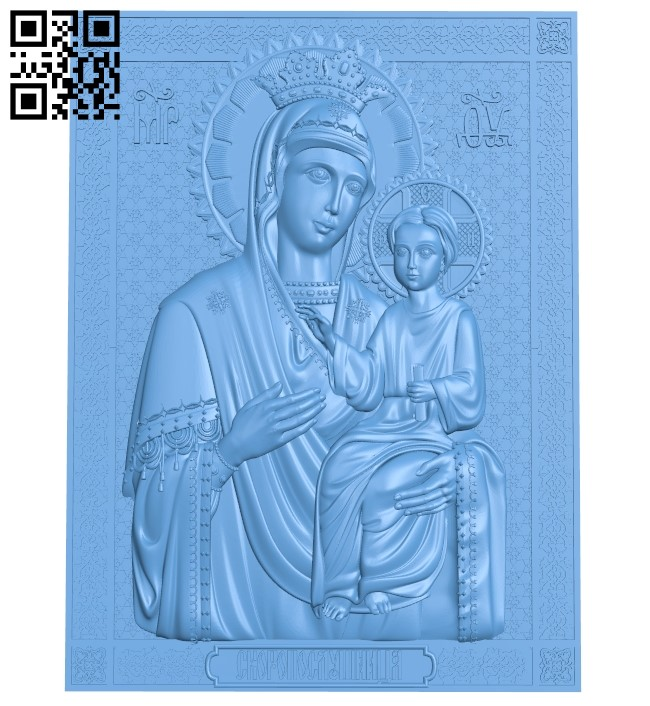 Icon of the Quick Heard A006155 download free stl files 3d model for CNC wood carving