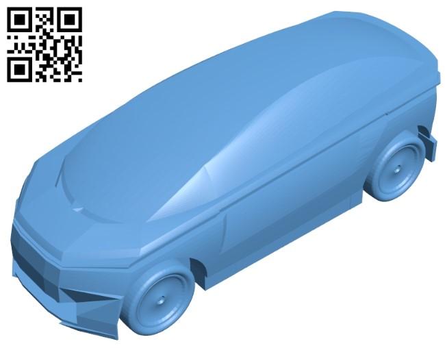 Ketven car B009069 file obj free download 3D Model for CNC and 3d printer
