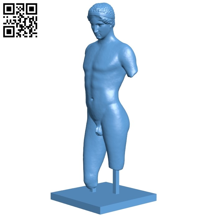 Met marble youth B009043 file obj free download 3D Model for CNC and 3d printer
