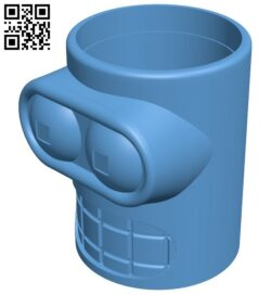 Metric Bender Beer Cozy B009075 file obj free download 3D Model for CNC and 3d printer