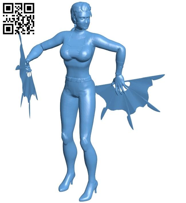 Miss Kitana B009079 file obj free download 3D Model for CNC and 3d printer
