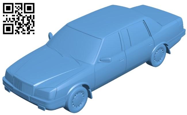 Moskvich Ivan Kalita - car B009208 file obj free download 3D Model for CNC and 3d printer
