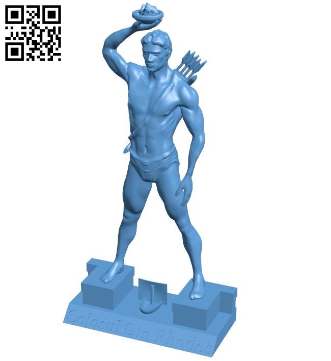 Mr Colosul mai mic B009074 file obj free download 3D Model for CNC and 3d printer