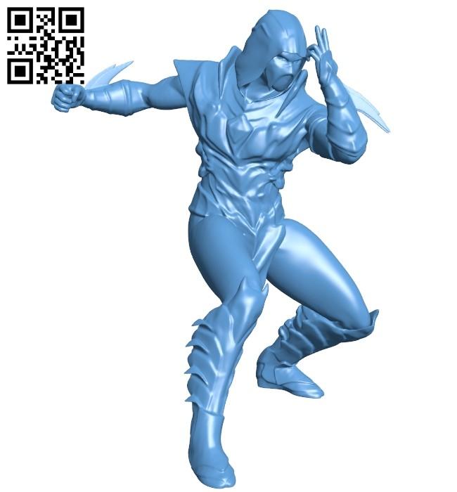 Mr Injustice Scorpion B009066 file obj free download 3D Model for CNC and 3d printer