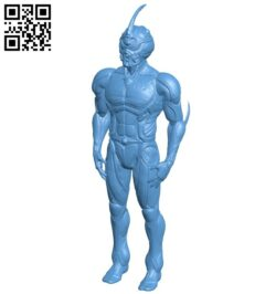 Mr guyver B009090 file obj free download 3D Model for CNC and 3d printer