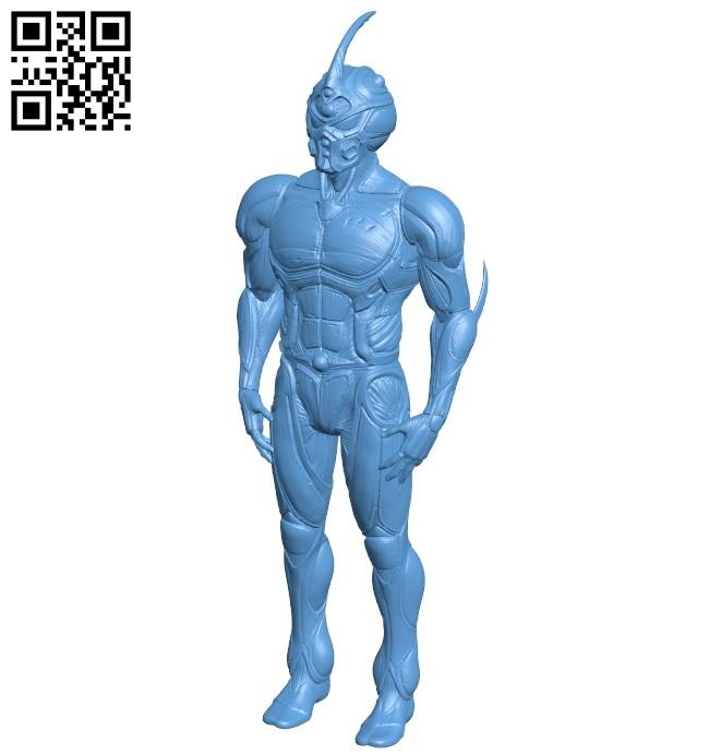 Mr guyver B009090 file obj free download 3D Model for CNC and 3d printer