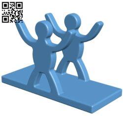 Napkin holder B009191 file obj free download 3D Model for CNC and 3d printer