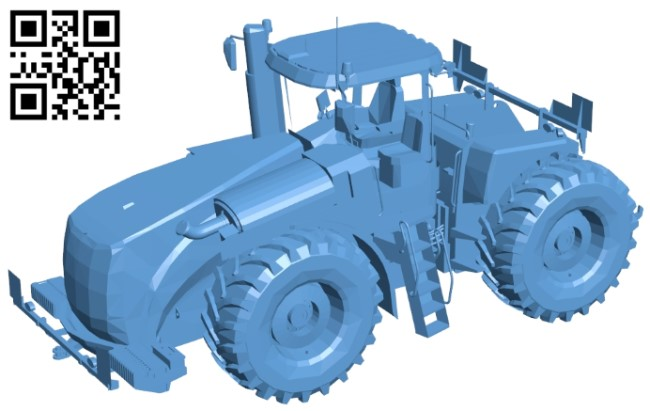 New Holland B009064 file obj free download 3D Model for CNC and 3d printer