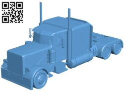 Optimus prime truck B009204 file obj free download 3D Model for CNC and 3d printer
