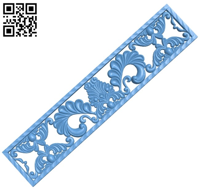 Pattern decor design A006068 download free stl files 3d model for CNC wood carving