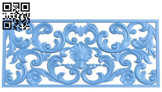 Pattern decor design A006069 download free stl files 3d model for CNC wood carving
