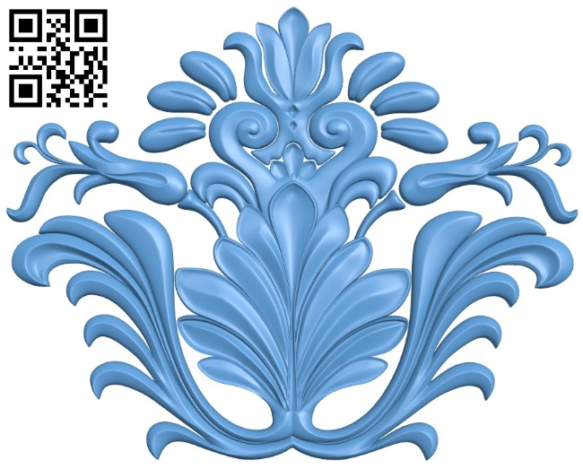 Pattern decor design A006130 download free stl files 3d model for CNC wood carving