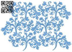 Pattern decor design A006132 download free stl files 3d model for CNC wood carving