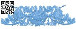 Pattern decor design A006136 download free stl files 3d model for CNC wood carving