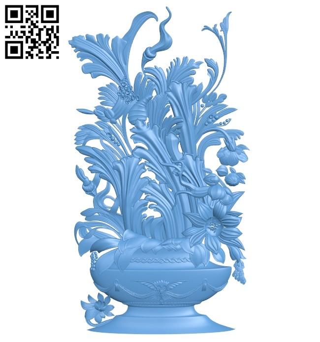 Pattern decor design A006137 download free stl files 3d model for CNC wood carving
